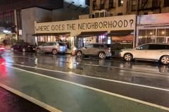 Where goes the neighborhood?